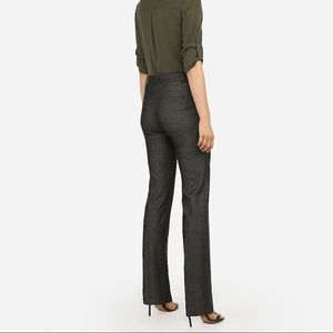 Express Pants - Express Mid Rise Barely Boot Curve Pant